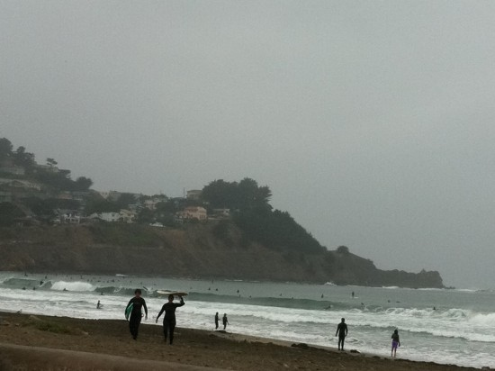 Took this post-surf from the car since it was raining