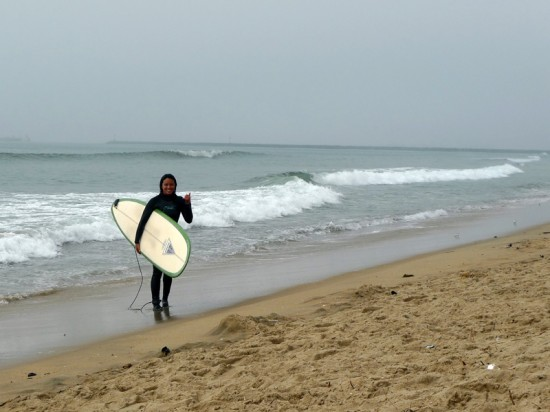 Post-surf with my new HP1.