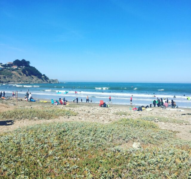 Sunday with some swell (Pacifica 090615)
