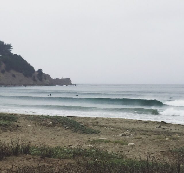 Offshore high tide rides (Pacifica 091415)