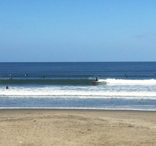 Monday offshore, plus tapping into the 7'4 (Pacifica 100515)