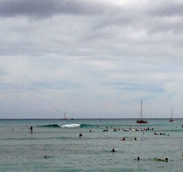 Longest Rides from the Outside (Waikiki 070514)